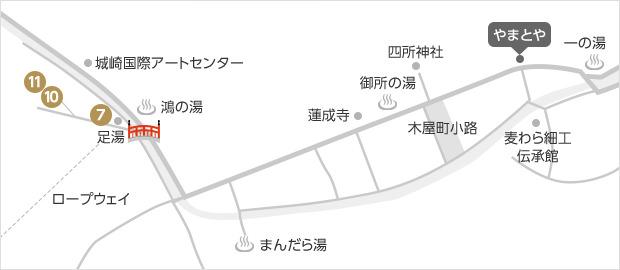 やまとや 駐車場 地図 マップ